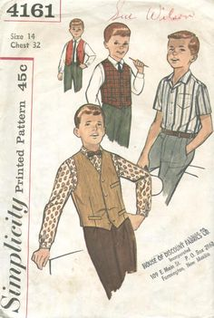 60's boy fashion