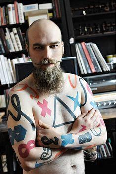 Martin T. Pecina's typographic tattoo (http://typomil.com/typofilos/2013/11/typograficke-tetovani/)