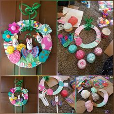 Wreast Easter craft...easy and fun!