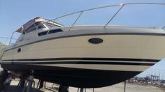 decorazione barca #santorografica #lamiabarcaèunica verticals: decorazione barca, boat wrapping, kit barca, adesivi per barca, oscurazione vetri barca