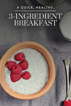 This easy breakfast can aid digestion woes and help you  feel better fast.