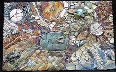 wood mosaic art - Google Search