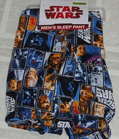 Star Wars pajamas pants. I used to have these, I miss them.