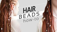 Ever wanted to use beads in your hairstyles? See this quick hair tricks video on how to use hair beads and adding them into your styles!