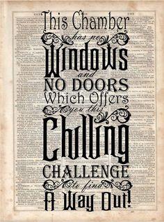 Haunted Mansion zitieren Wörterbuch von MySilhouetteShoppe auf Etsy