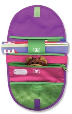 Melissa & Doug Trunki Saddlebag - Pink/Purple