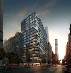 Gallery of OMA Reveals Their First Residential Tower in New York - 1