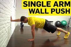 Single-Arm Wall Push