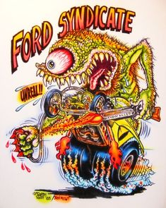 ... Johnny Ace Art Airbrushed T Shirt Rat Fink Ed Big Daddy Roth Ford ...