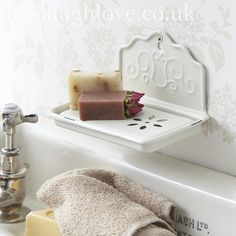 enamel soap dish country kitchen shabby chic bathroom accessories