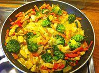 Putengeschnetzeltes in Kokosmilch, ein schönes Rezept aus der Kategorie Kochen. Bewertungen: 135. Durchschnitt: Ø 4,4.