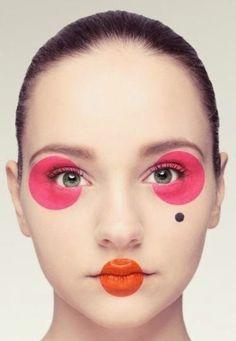 Pop art makeup photography make up ideas for 2019 Makeup Inspo, Makeup Art, Beauty Makeup, Eye Makeup, Makeup Ideas, Fairy Makeup, Mermaid Makeup, Hair Beauty, Crazy Makeup