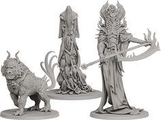 Komainu, Yurei and Oni of Spite.