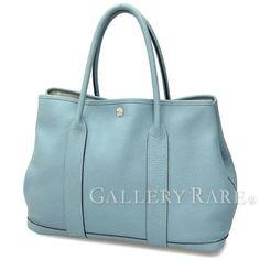Authentic-Hermes-Garden-Party-PM-Ciel-Veau-Negonda-Stamp-M-Tote-bag-GR-1785708