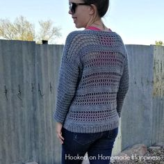 This pattern has been posted in its entirety HERE! It's finally sweater season and time for this Sweater Crochet Along! Well, when I say finally, I mean for us in the southwest. I'm pretty sure it's been sweater weather elsewhere for quite a while now 😉 I admit, I'm a bit obsessed with this sweater.  …
