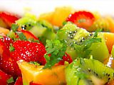 This is a 10!  Super delicious and refreshing dressing for a fruit salad.  Radiance Fruit Salad Recipe -  definitely radiant!
