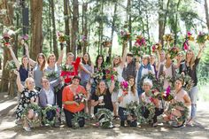 HOORAY! magazine | Wreaths + Posies with The Floral Society | Photography by Tess Godkin Photographer