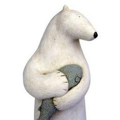 Ceramic Animal Sculptures | Abstract Animal Ceramic Sculpture Dream-like ceramic sculptures
