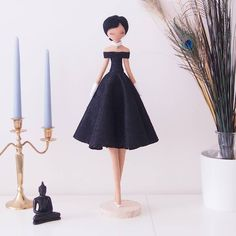 Image may contain: one or more people Audrey Hepburn Style, Sewing Dolls, Handmade Birthday Cards, Baby Room Decor, Fabric Dolls, Diy Toys, Diy For Kids, Fashion Dolls, Fabric Crafts