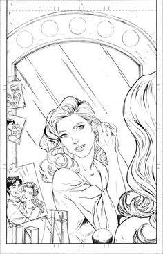 Gotham Nights PG 01 is part of Printable adult coloring pages - My newest sequential art portfolio piece, starring Barbara Gordon and Dick Grayson This was drawn on Bristol Board, using and mechani Gotham Nights PG 01 Barbie Coloring Pages, Adult Coloring Book Pages, Printable Adult Coloring Pages, Cute Coloring Pages, Disney Coloring Pages, Coloring Books, Detailed Coloring Pages, Book Art, Sketches