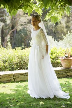 Robe de mariée Constance Fournier I Mariée en 2017 I Victoire