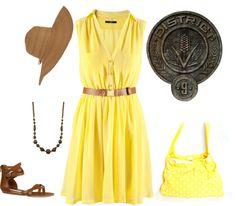 Hunger games inspired: district 9, created by elfsrule on Polyvore