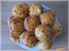 Muffiny s jablkem a margotkou