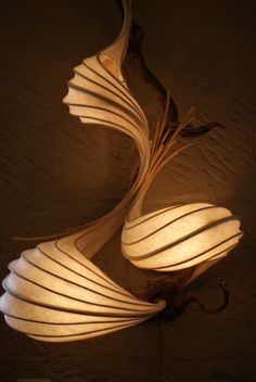 Light sculpture by Stephen White