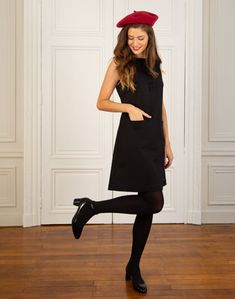 Robe Axel - Béret Basile Shirt Dress, T Shirt, Collection, Black, Dresses, Fashion, Dress, Nantes, Supreme T Shirt