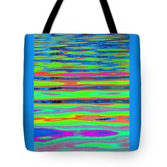 """Ripples and reflection Seven Tote Bag 18"""" x 18"""""""