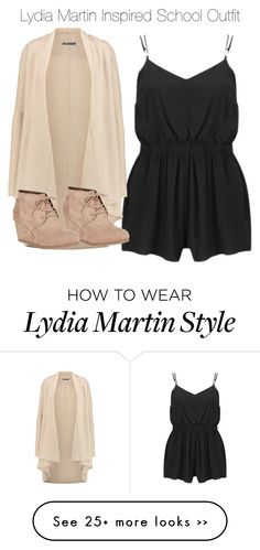 """Lydia Martin Inspired School Outfit"" by staystronng on Polyvore featuring MINKPINK, Vince, Nature Breeze, Spring, school, LydiaMartin and tw"