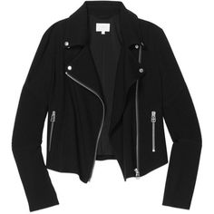 Wilfred montesson jacket Aritzia ❤ liked on Polyvore featuring outerwear, jackets, biker jacket, moto jacket, motorcycle jacket, rider jacket and wilfred