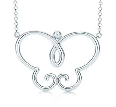 Tiffany & Co. | Item | Villa Paloma butterfly pendant in sterling silver, large. | United States