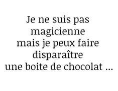 Chocolat encore et oui...