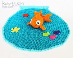 Ravelry: Goldfish Lovey pattern by Briana Olsen