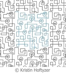 intelligent quilting circuit path - Google Search