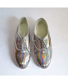 shiny shoes! pre warning might cause people to make you dance ...