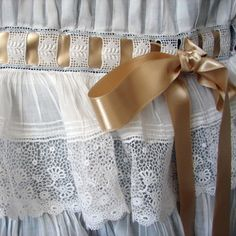 Maria Niforos - Fine Antique Lace, Linens & Textiles : Antique Christening Gowns & Children's Items Page Two