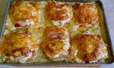 Receptek, és hasznos cikkek oldala: Laktatóan eszményi rakott csirkemell
