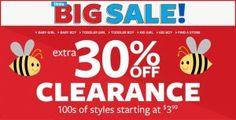 Carter's: Additional 30% off Clearance! – Mama Bees Freebies