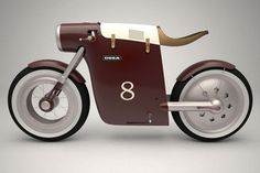 Electric Bike Monocasco Concept By ART TIC. Inspired by the famous Ossa monocasco bike of Santiago Herrero this concept bike is its electric version. Auto Design, Bike Design, Automotive Design, Concept Motorcycles, Cool Motorcycles, Motorcycle Design, Motorcycle Bike, Retro Motorcycle, Women Motorcycle