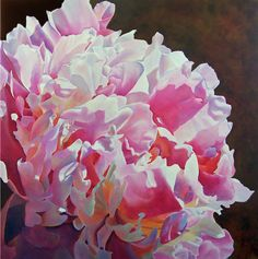 Beautiful watercolor - amazing light and color! By Gwen Card