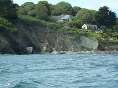ON THE BOAT IN TALLAND BAY,Cornwall