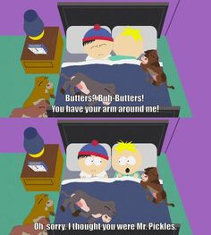 South Park Butters and Stan