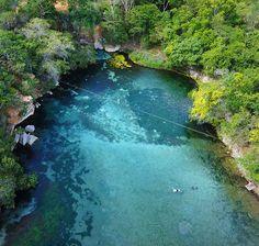 """Location: Rio da Pratinha - Chapada Diamantina, Brasil.  Photo Credit: @flyhd_drones"""