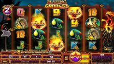 #Play Polynesian Goddess of fire and volcano themed, Blazing Goddess #slotsonline at Vegas Paradise. Avail £5 bonus now