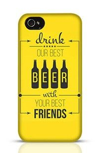 Beer With Friend Apple iPhone 4s Phone Case