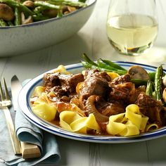 """Slow Cooker Burgundy Beef Recipe -""""When my adult children are coming over for dinner, this is the request. All three of them and their significant others love this dish. Yum!"""" -Urilla Cheverie of Alfred, Maine"""