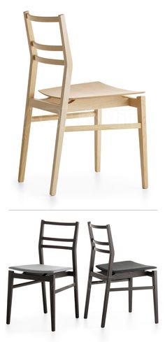Crassevig   Gia - side chair   design by Mathias Nilo (2002)