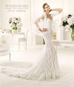 Wedding Gowns I Love: Pronovias 2013 Manuel Mota Collection